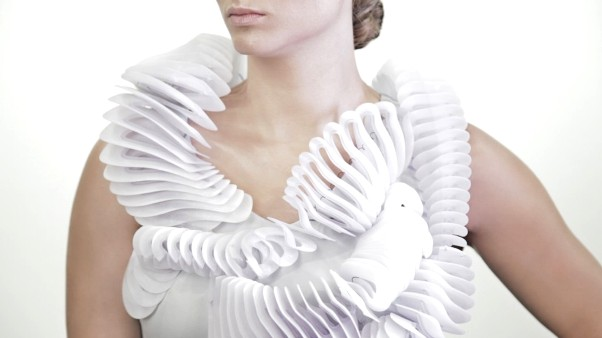 robe-blanche dress sukienka 3d