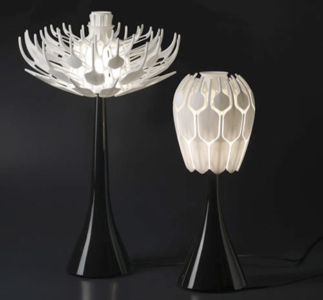 Bloom Table Lamp 3D